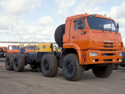 Шасси КАМАЗ-6560