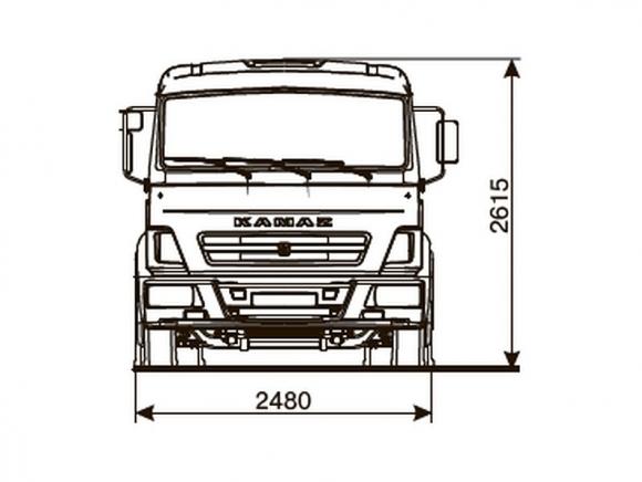 КАМАЗ 4308-3017-69(G5)