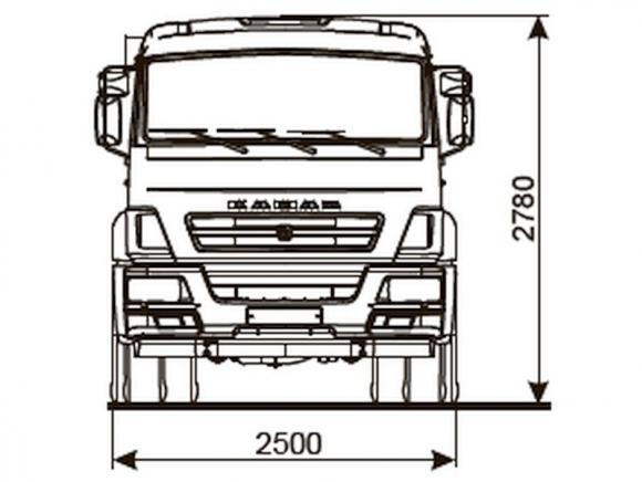 КАМАЗ 43253-3010-69(G5)