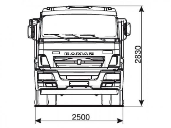 КАМАЗ 43255-6010-69(G5)