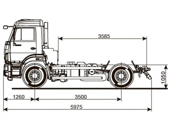 КАМАЗ 43255-4010-69(G5)