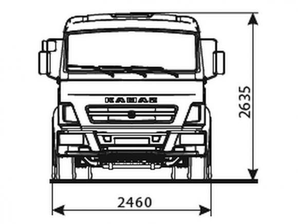 КАМАЗ 5308-3015-48(A5)