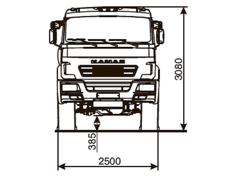 КАМАЗ 53504-6013-50