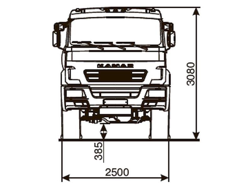 КАМАЗ 53504-6910-50