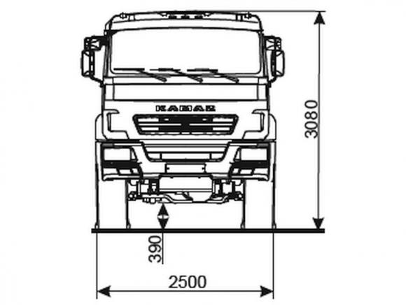 КАМАЗ 5350-3054-66(D5)