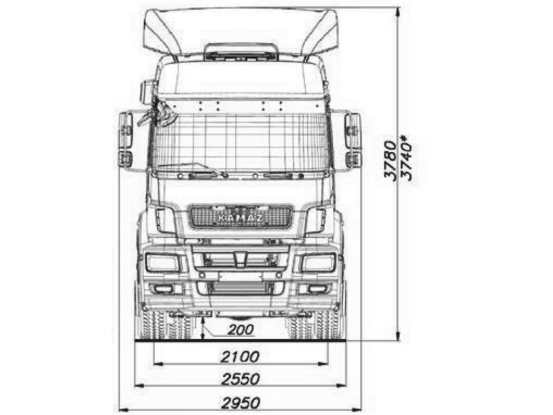 КАМАЗ 5490-024-87(S5)
