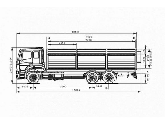 КАМАЗ 65207-85002-87(S5)