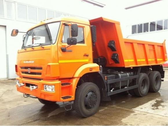 Новый КАМАЗ-65111-6013-42