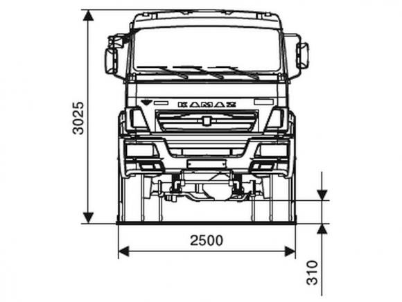 КАМАЗ 65111-3090-50
