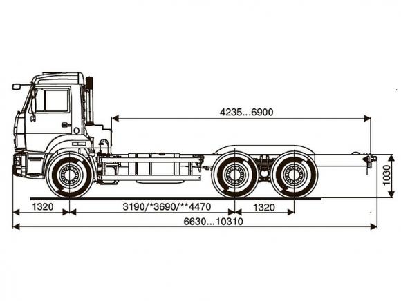 КАМАЗ 65115-3950-48(A5)