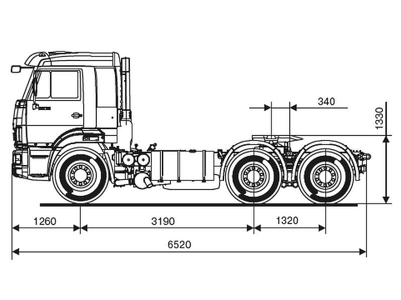 КАМАЗ 65116-6913-48(A5)