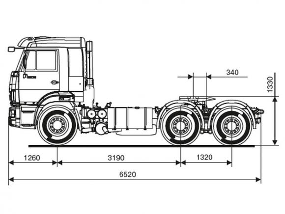 КАМАЗ 65116-7010-48(A5)