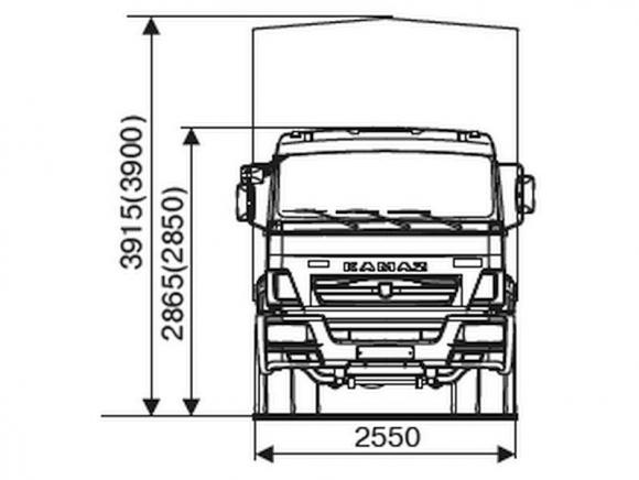 КАМАЗ 65117-7010-48(A5)