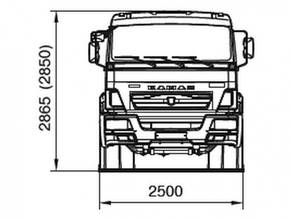 КАМАЗ 65117-3010-48(A5)