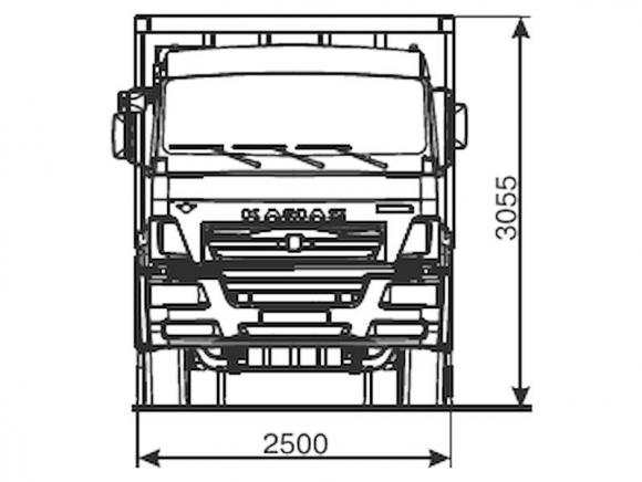 КАМАЗ 6520-6022-49(B5)