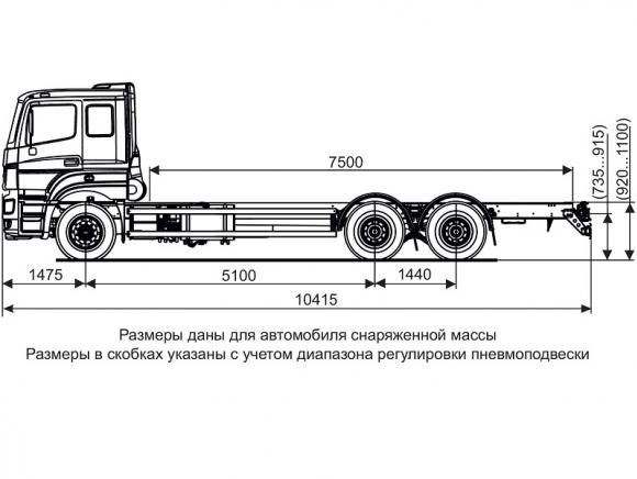 КАМАЗ 65207-1003-87(S5)