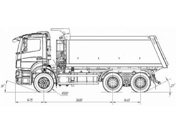 КАМАЗ 6520-21010-43