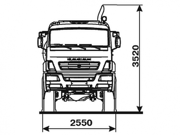 КАМАЗ 6560-3960-53