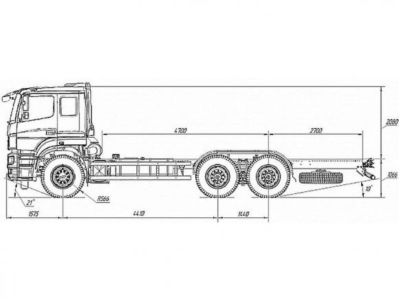КАМАЗ 6580-3051-68(T5)