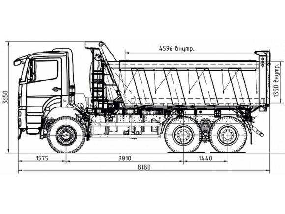 КАМАЗ 65802-153001-87(S5)