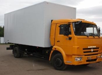 Изотермический фургон на шасси КАМАЗ 4308