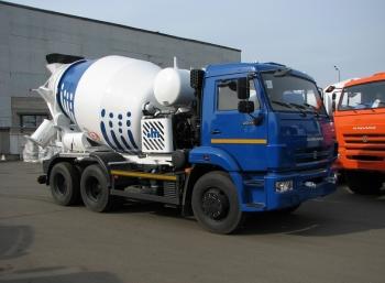 КАМАЗ-5814Z7 АБС 7м³