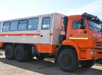 Автобус вахтовый, 22 места, КАМАЗ 5350