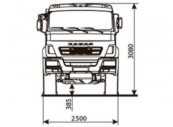 КАМАЗ 43502-3038-66(D5)