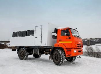 Автомобиль для охоты КАМАЗ 4326