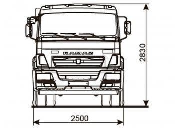 КАМАЗ 43255-3010-69(G5)