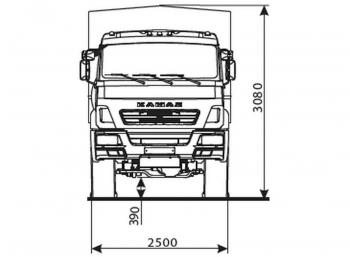 КАМАЗ 5350-6017-66(D5)