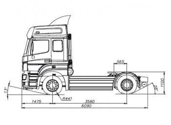 КАМАЗ 5490-001-68(T5)