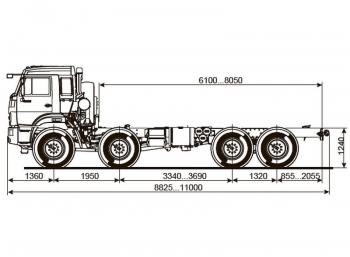 КАМАЗ 63501-3960-51