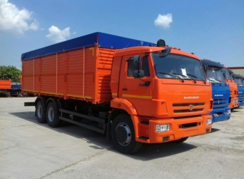 Самосвал зерновоз КАМАЗ 65115