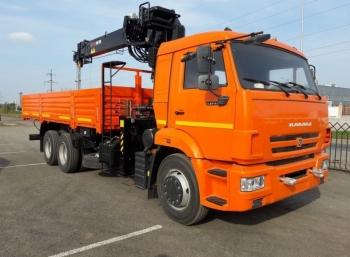 КАМАЗ 65115 с КМУ HIAB 190 TM-6