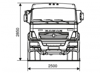 КАМАЗ 65116-6020-48(A5)