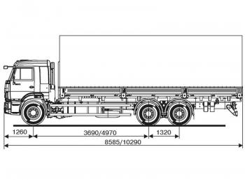КАМАЗ 65117-6052-48(A5)