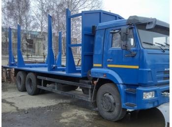 Сортиментовоз КАМАЗ-65117