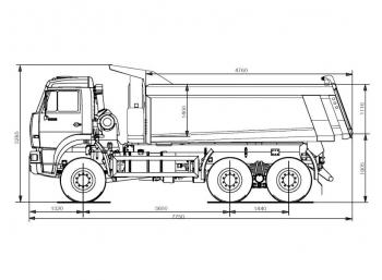 КАМАЗ 6520-6020-43