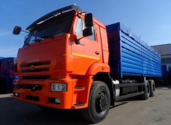 Бортовой зерновоз КАМАЗ 6520