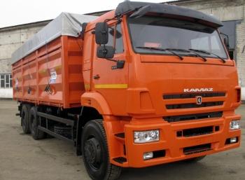 Самосвальный зерновоз КАМАЗ 6520