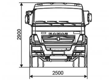 КАМАЗ 6540-3928-48(A5)