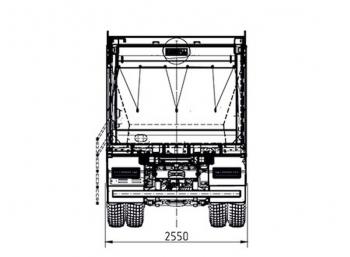 схема камаз-6580