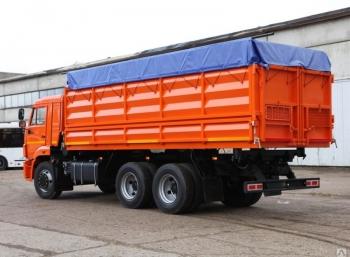 Бортовой зерновоз КАМАЗ 65115 32м3