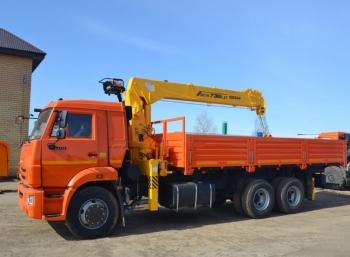 КАМАЗ 65115 с КМУ Soosan SCS 736L-II TOP
