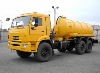 Ассенизатор КАМАЗ-43118 10м³