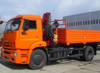 Камаз 43253 Бортовой с КМУ PK 10000А
