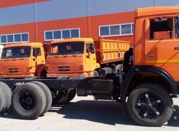 Шасси КАМАЗ-55102