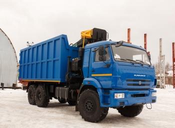 Ломовоз на шасси КАМАЗ 43118