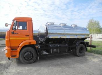 Автоцистерна АЦПТ на шасси КАМАЗ 43253